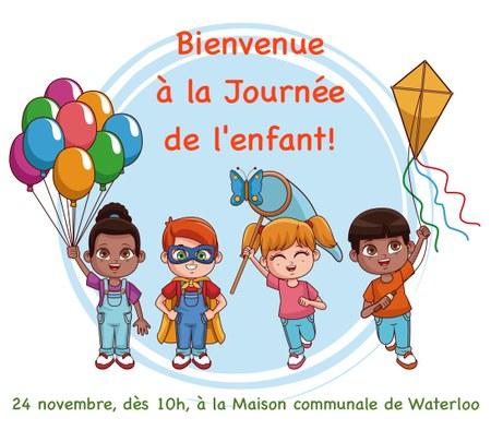"""Bienvenue à la """"Journée de l'enfant""""!"""