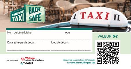 Des chèques taxi pour les jeunes