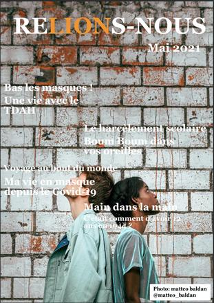 """Jeunesse: """"Relions-nous"""", le journal multimédia est sorti"""
