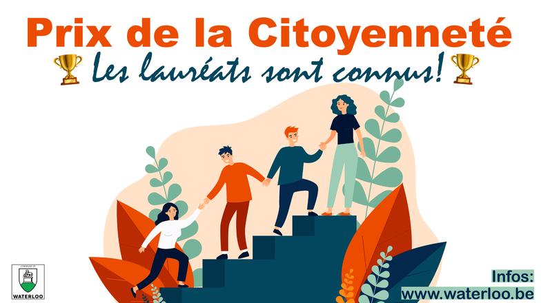 Prix de la Citoyenneté: un immense bravo aux 5 gagnants!